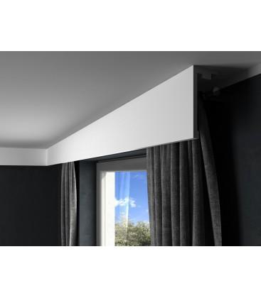 Garnižová stropná lišta MARDOM QL016 - vhodná pre LED podsvietenie