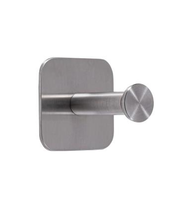 Jednoduchý samolepiaci vešiak Inox N023